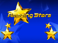 Классическая азартная игра Amazing Stars с джекпотом на депозит